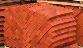 Кирпич красный керамический