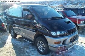 Запчасти на  Mitsubishi Делика 1997 г.в.