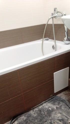 Плиточные работы любой сложности.ванна под ключ