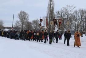 Крестный ход ко дню празднования Собора новомучеников и исповедников Церкви Русской