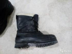 Ботинки для работы на улице. Зимние