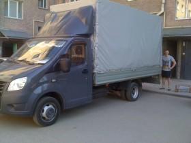 Городские грузоперевозки. Мебельный фургон.