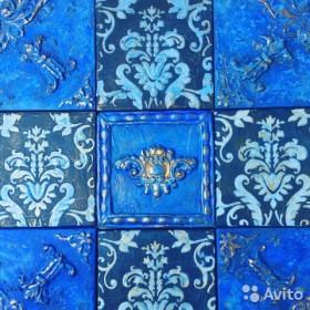 Керамическая плитка с объемным декором