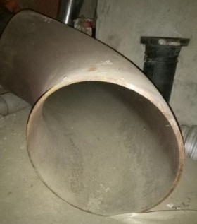 Отвод крутоизогнутый стальной D 325 (Ду 300) / 90