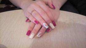 Наращивание ногтей)))