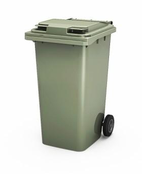 Мусорный пластиковый контейнер 120 литров
