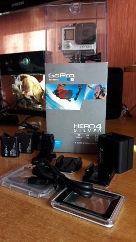 Продается экшен-камера GoPro 4 Silver Edition