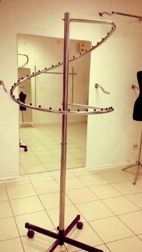 Напольные вешалки(вешало), Примерочная, Зеркала для магазина одежды