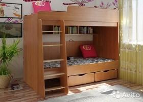 Новая Двухъярусная кровать N11