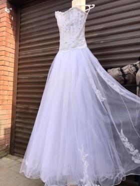 Пышное Свадебное платье из фатина от «Anna Bogdan»