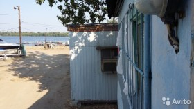 Вагончик дом рыбака на берегу Волги 18 м²