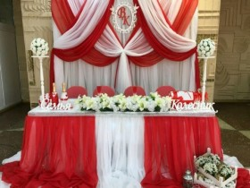 Оформление свадьбы. Декор. Украшение зала