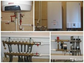 Монтаж систем отопления водоснабжения. Сантехник