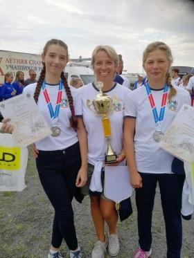Спортсмены парусного спорта завоевали серебряную медаль в финальных соревнованиях IХ летней Спартакиады учащихся России 2019 года по парусному спорту