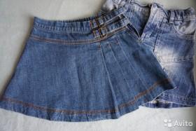 Джинсовые юбки дешево