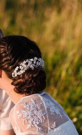 Свадебный аксессуар для волос