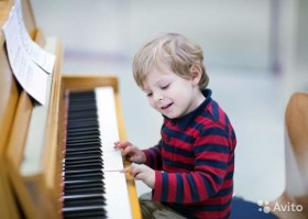 Обучение детей игре на фортепиано с 4-х лет