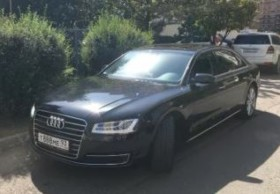 Audi A8, 2015