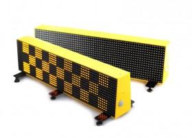 Светодиодные шашки для такси, двухсторонние