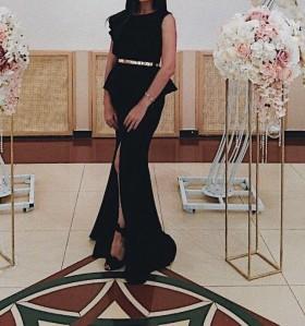 Платье в пол вечернее, выпускное, торжественное