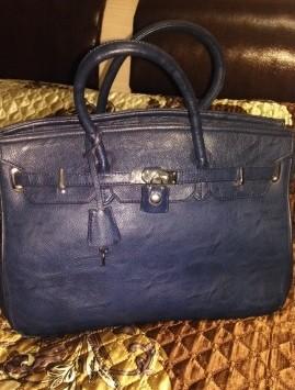 Кожаная женская сумка от бренда Lijiayu