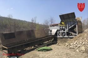 Скруббер - Бутара, промприбор для золотодобычи