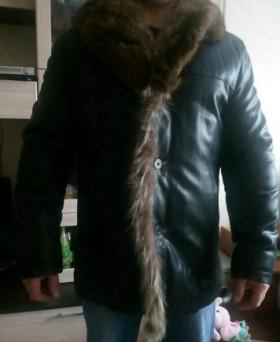 Куртка на меху р.54