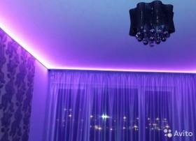 Натяжной потолок c подсветкой арт 759