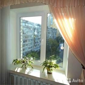 Пластиковое окно 1450х1450 однокамер. энерго