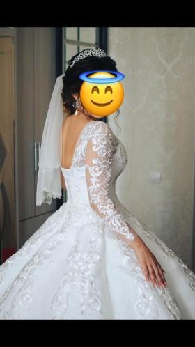 Свадебное платье-кекс . Тренд 2018-2019