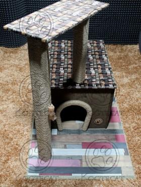 Когтеточки и игровые комплексы для котов и кошек «Kogtecat»