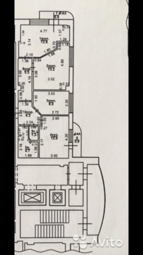 Продам 3х комнатную квартиру в центральном районе