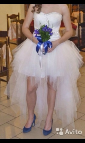 Продаю свадебное платье и шубку для невесты