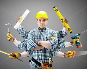 Все виды отделочных работ, сварка, гипсокартон, ламинат.