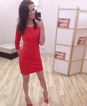 Новое красивое замшевое платье