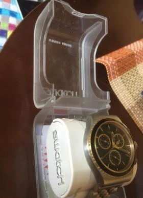 Швейцарские наручные мужские часы Swatch YVS403G