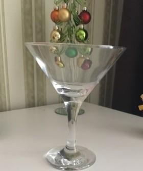 Новые бокалы для коктейлей/мартини