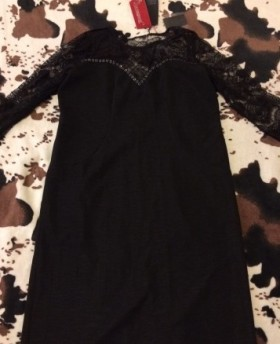 Новое ажурное платье