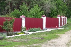 Забор ворота Навесы Хозпостройки