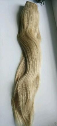 Натуральные волосы на леске