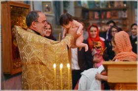 Видеограф и фотограф для крестин, крещения детей