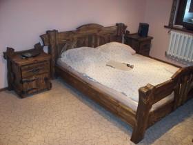 Состаренная мебель из массива (под старину)
