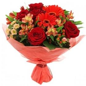 Розы оптом + составление букетов с доставкой
