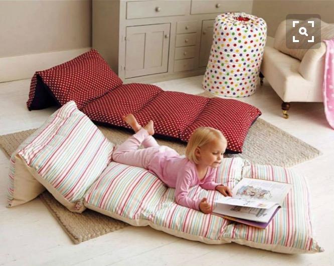 Напольная подушку своими руками